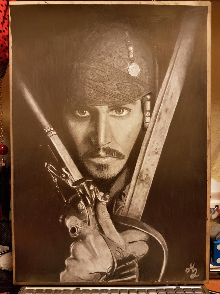 Johnny Depp by Floren